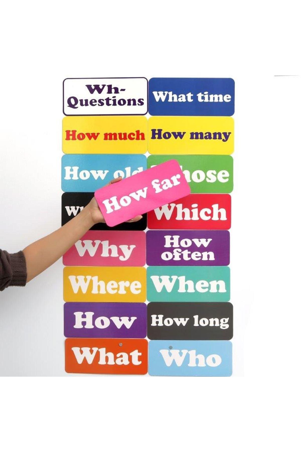 Wh-questions (17 Çeşit)