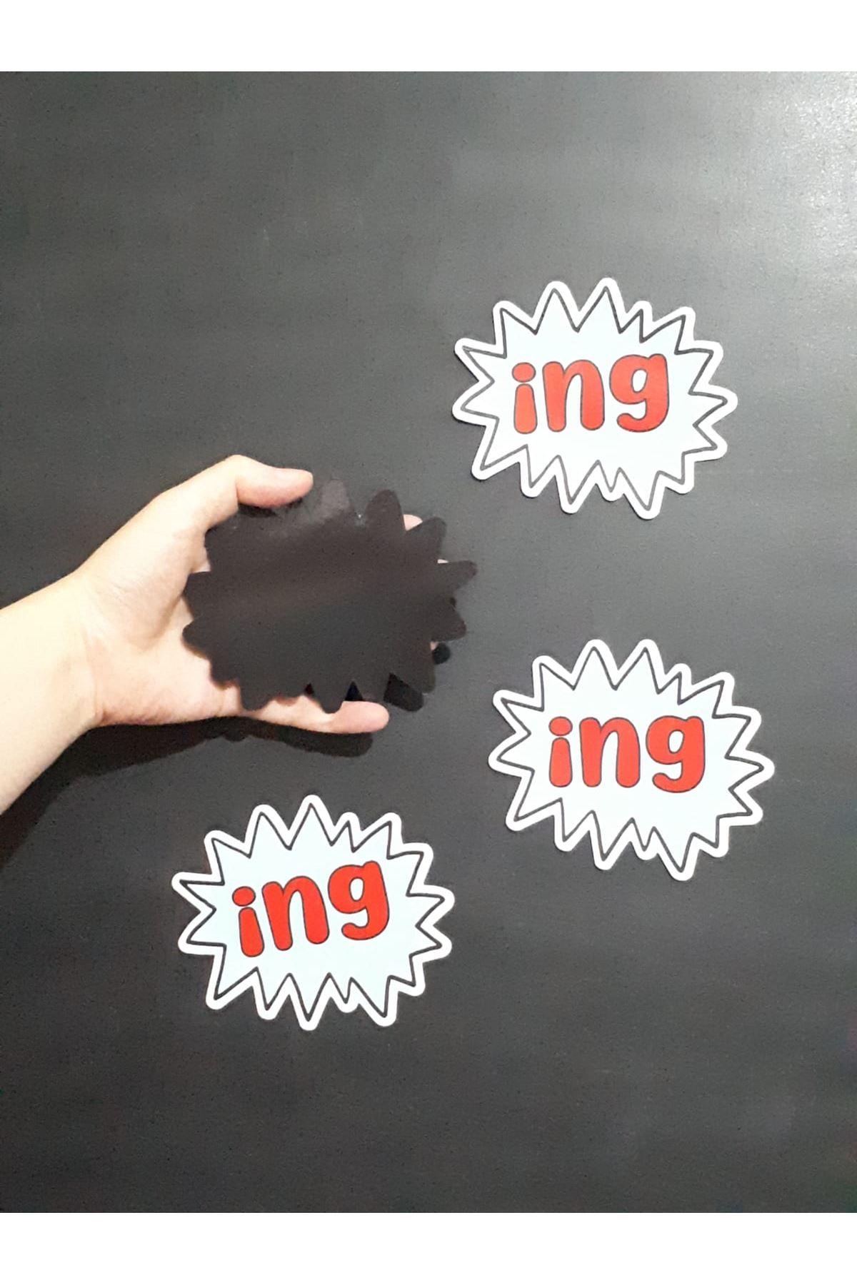 -ing Magnet 4'lü