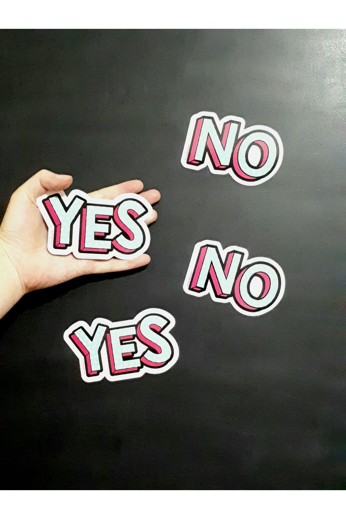 Yes-No Magnet Set