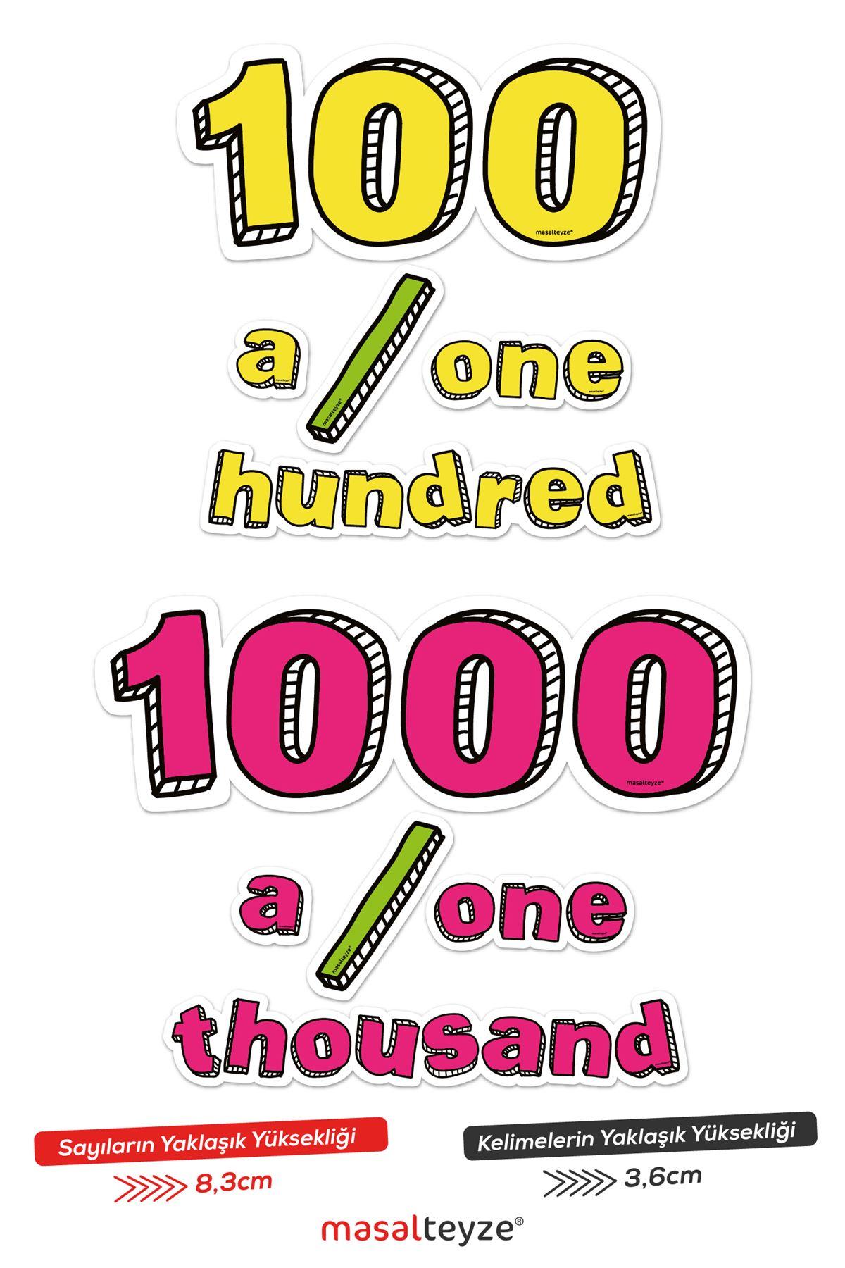 Sayılar 100 ve 1000