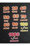 Sayılar 20-1000 Set
